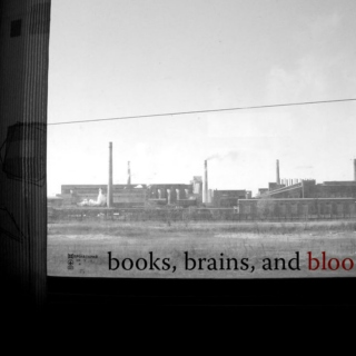 books, brains, and blood mix