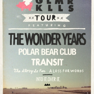 The Glamour Kills Tour 2012: Get Stoked On It