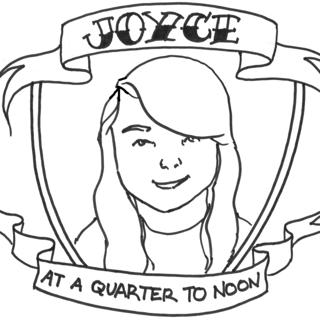Joyce at a Quarter to Noon