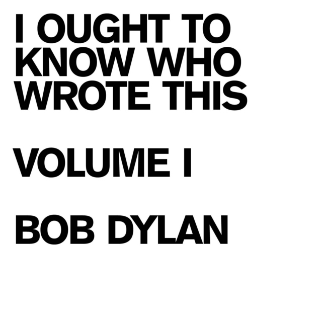 I ought to know who wrote this:  Volume One:  Bob Dylan