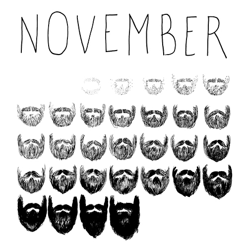 Homage To Movember.