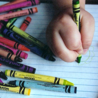 Flashback: When there were crayons and not bills on my kitchen table
