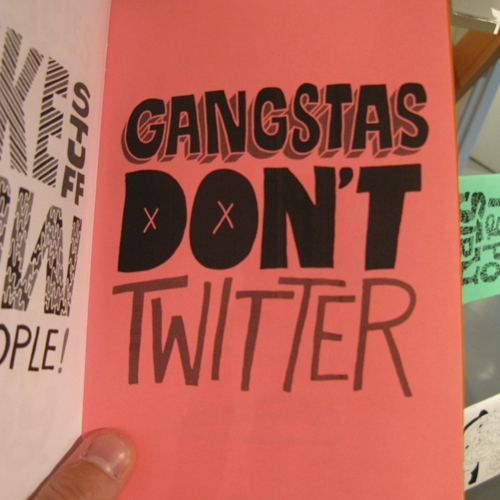 Gangstas Don't Twitter