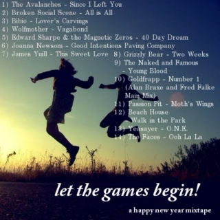 let the games begin! a happy new year mixtape