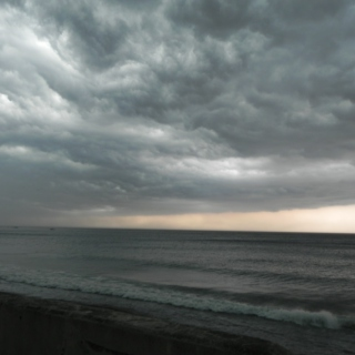 the sky looks pissed: a hurricane survival kit
