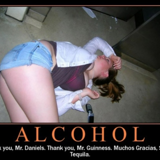 Just to thank you one more time... Alcohol