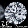 20 Flawless Diamonds