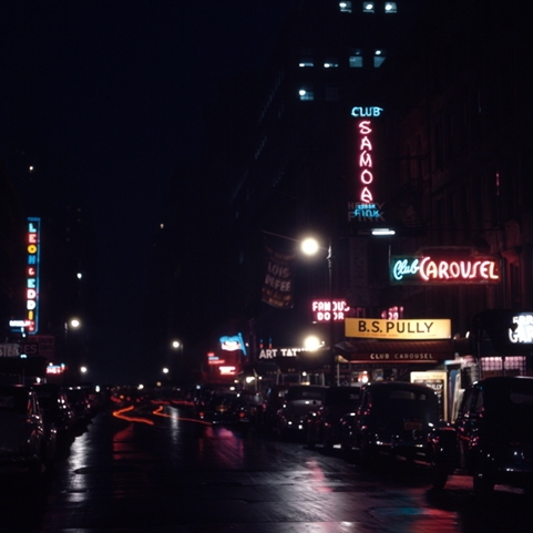 An inebriated travelogue through '50s and '60s jazz