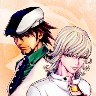 X & Y // a tiger and bunny mix