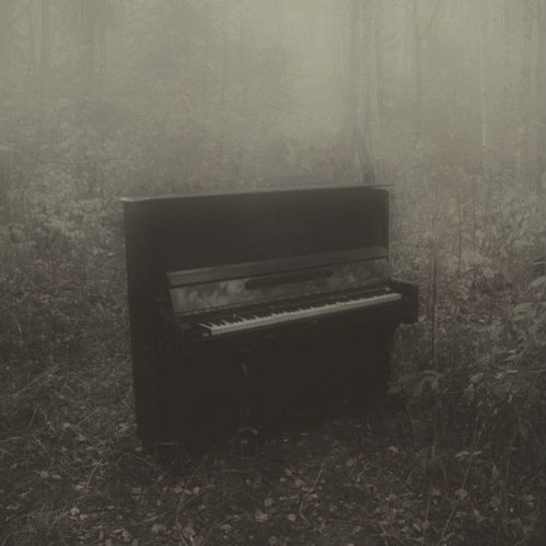 the piano has been drinking.