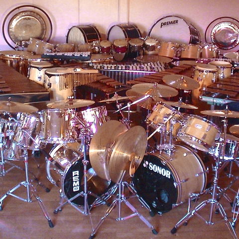 Too Much Drums!!