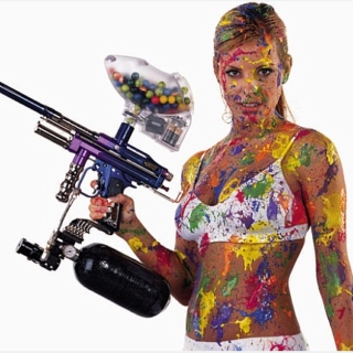 PAINTBALL!! the only legal way to kill your neighbor