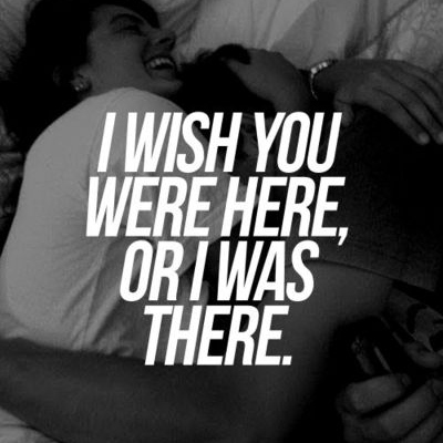 I want you to be here