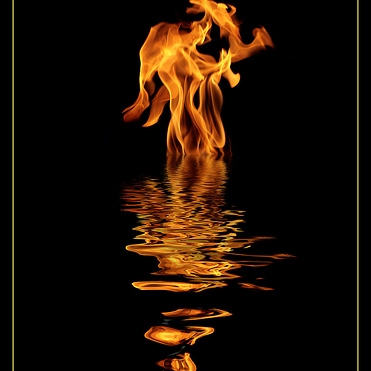 a mix alchemical, act 1 (fire to water to air)