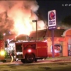 Fire in the Taco Bell