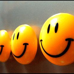 Happy is as happy does...