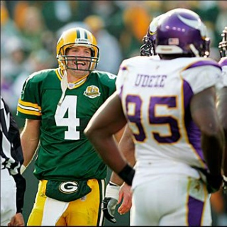 Brett Favre is undecided, yet still ruggedly handsome