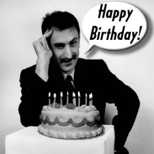 Happy Birthday to Frank Zappa!
