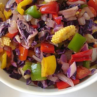 Mixed vegetables salad