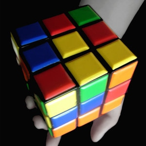 rubik's cubes and Legos