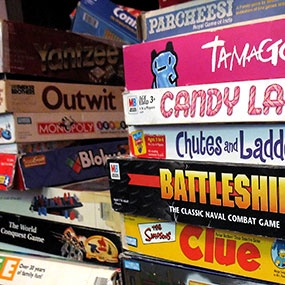 Music for Playing Board Games.