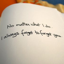 Forget? I don't think I ever could...