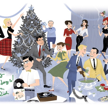 60s christmas party - Christmas Party Songs