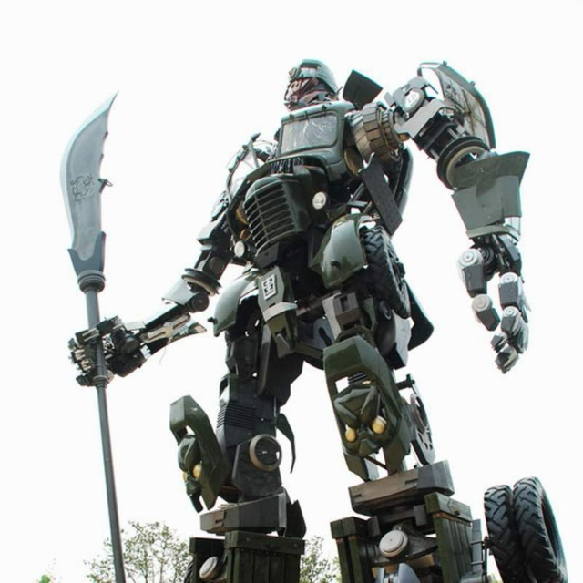 If I rode a giant robot, detroying cities