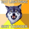 Eat Lightning, Shit Thunder