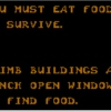 You Must Eat Food to Survive