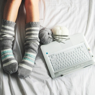 Striped Stockings and Peppermint Tea