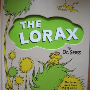 Everyone just Lorax.