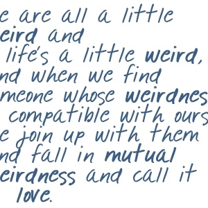 Just A Few Songs About Mutual Weirdness