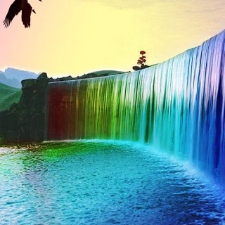 Psychedelic Waterfalls