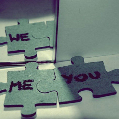 Puzzle Piece (together we fit)