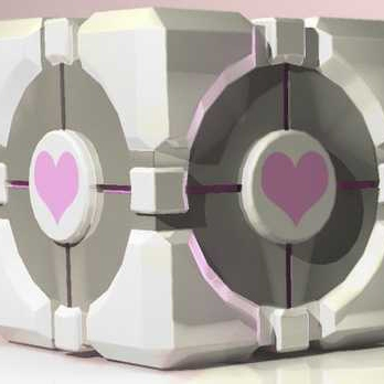 For my companion cube...