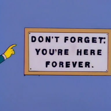 Don't Forget. Here Forever.