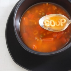 Alphabet Soup: A Bursting Bowl of B's