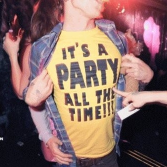 IT'S TIME TO P-P-P-PARTY!