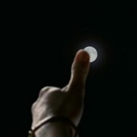 No matter where you are in the world, the moon's never bigger than your thumb