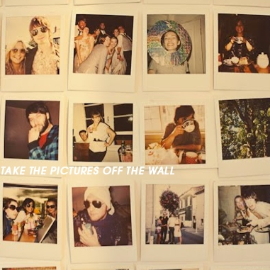 take the pictures off the wall