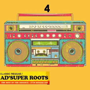 AD' SUPER ROOTS REGGAE MIXTAPE