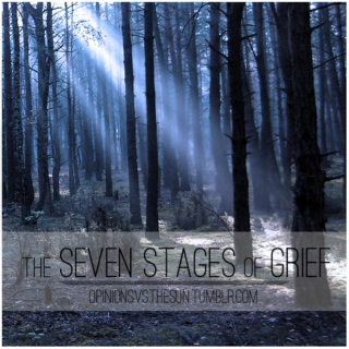 the seven stages of grief