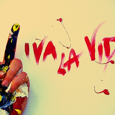 if you feel like... viva la vida