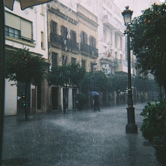 raining once more