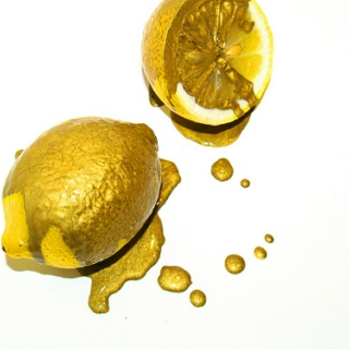 When Life Gives You Lemons, You Paint That Shit Gold