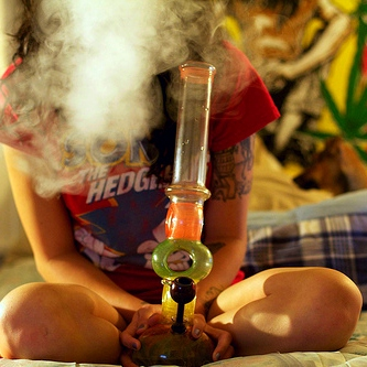 Sit back and Toke
