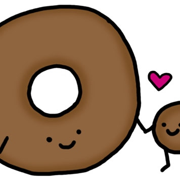 The love story of donut and his hole
