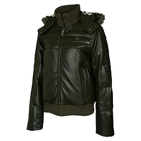 Leather Fila Puffcoat (For Her)