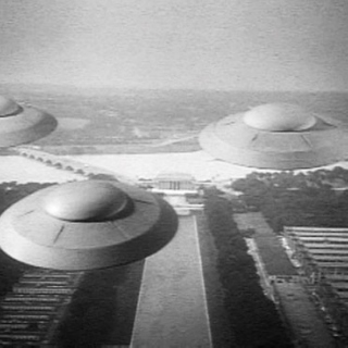Flying Saucers Bringin' Jazz From Outer Space